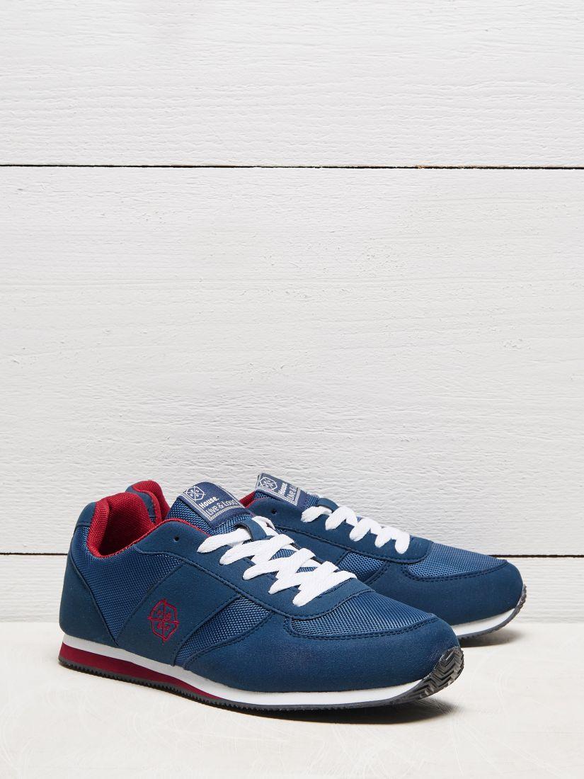 Buty z łączonych materiałów house 43 niebieski